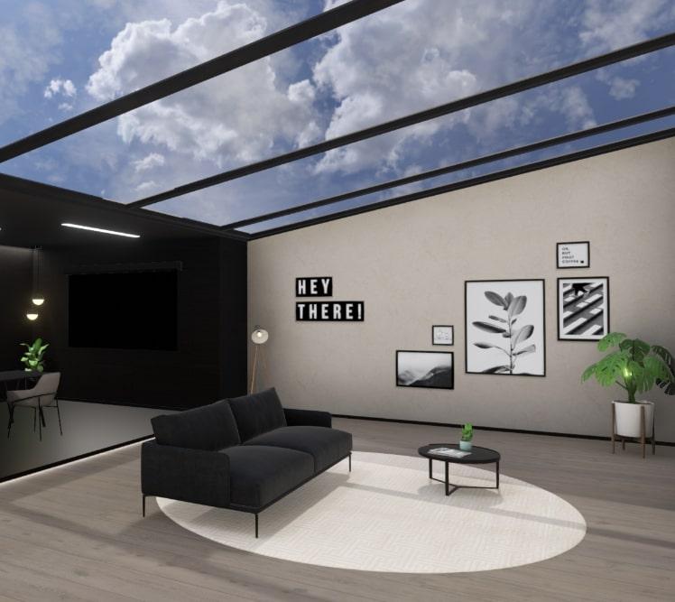 3D Virtueller Brandspace